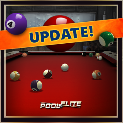 pool elite, billiards, snooker, carom, 8 ball, update, bug