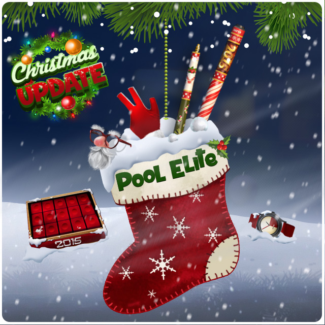 new year christmas update pool elite