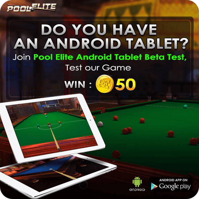 pool elite trick shot 8 ball 9 ball carom 3 cushion snooker online casual games browser pool game lucky spin permanent lifetime spin casual new room elo android tablet