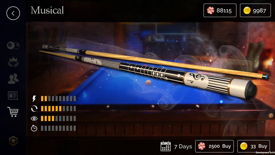 pool elite 3d billiards game free mobile v1.0 update güncelleme casual match ranked match solo friendly chips matchmaking how to play snooker carom karambol 3 bant