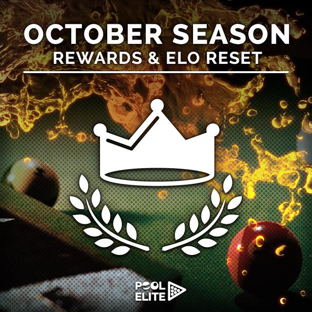 Pool Elite - October Season is Over