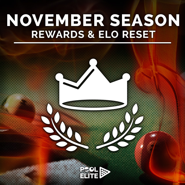 pool elite november trick shot 8 ball 9 ball carom 3 cushion snooker online browser pool game pool elite leagues