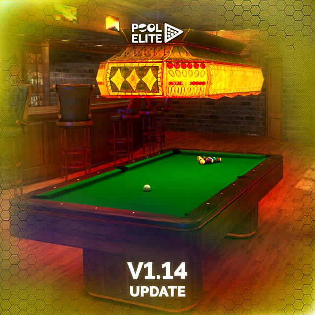 pool elite v1.14 update leaderboards chests free billiards pool 8 ball snooker carom online billiards